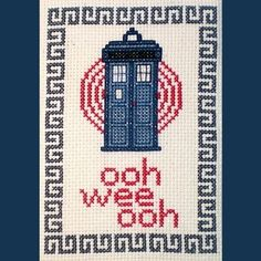 Ok, Dr. Who is getting on my fuckin nerves, but.... ooh wee ooh.... lol that's a good one.