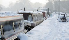 Guide to living on a narrowboat in winter, winterising your boat, your boat your boat Barge Boat, Canal Barge, Canal Boat Interior, Dutch Barge, Lakefront Property, Boat Lift, Narrow House, South Yorkshire, Floating House