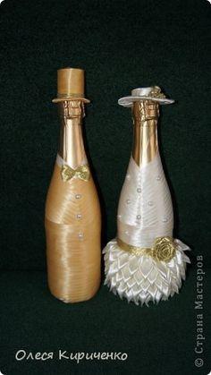 Декор предметов Свадьба Цумами Канзаши На годовщину свадьбы Ленты фото 1
