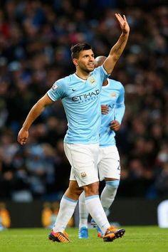 """Sergio """"Kun"""" Agüero, en números, es el mejor jugador de Premier League 13-14.  ¡8 goles y 4 asistencias con el City!"""