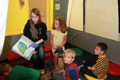 Day 3 at Monster Camp. The Lorax (The Environment Monster) Reading the book to Ages 3-5.