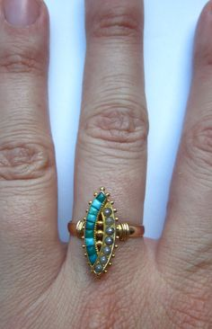 ring - Victorian Turquoise