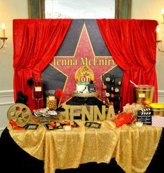 hollywood theme party 10 year old - Hollywood Theme Party and the Items to Get for It – Home Party Theme Ideas