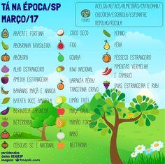 Prefira frutas e vegetais da estação! Alimentos da época são mais frescos, mais baratos, têm maior valor nutricional e impactam muito menos o ambiente, já que exigem muito menos deslocamento.  #frutas #fruta #saudavel #saude #dieta #fruits #saopaulo #ceagesp #verduras #legumes #alimento #sp #sustentabilidade #natureza #ecologia #meioambiente #fitness #nutricao #comida #organico #culinaria #gastronomia #bemestar #qualidadedevida #sustainability #food #GoVegan #vegano #vegetariano…