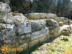 Mura messapiche in località Palombara a Muro Leccese (Le)