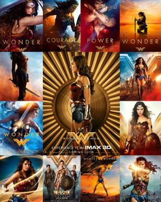 Wonder Woman movie posters - Gal Gadot as Wonder Gal Gadot Wonder Woman, Wonder Woman Movie, Superman Wonder Woman, Comic Book Characters, Comic Character, Female Superhero, Dc Memes, About Time Movie, Justice League