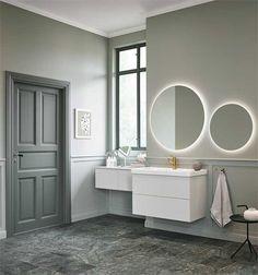 Page 1 from '(Duplicated) Mezzo' by Vedum Kök & Bad Laundry In Bathroom, Mirror, Interior Design, House, Furniture, Home Decor, Bathroom Ideas, Bathrooms, Villa