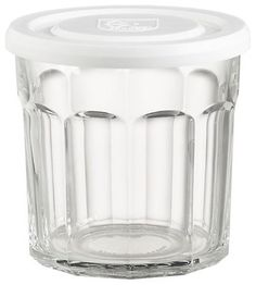 Working Glass with Lid - traditional - food containers and storage - Crate&Barrel