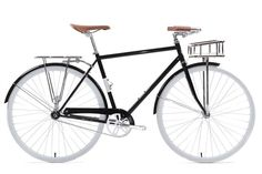 Front Basket and Rear Pannier Rack