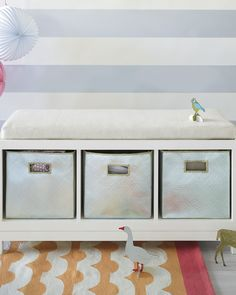 Take a look at this Serena & Lily Campaign Storage Bench on zulily today! School Locker Organization, Storage Bench With Cushion, Storage Benches, Girl Room, Storage Spaces, Campaign, Furniture, Lily, Home Decor