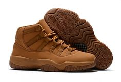 "0d82e8d4bc0a13 Buy ""Wheat"" Air Jordan 11 Retro Premium Ginger Gum Yellow New Style from  Reliable ""Wheat"" Air Jordan 11 Retro Premium Ginger Gum Yellow New Style  suppliers."