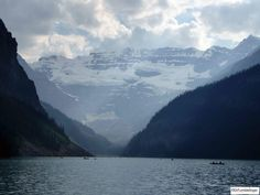 Lake Louise and the Mt. Victoria, Banff National Park, Alberta