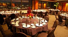 Weddings and receptions on the floor at Columbia Tower Club, Seattle, WA Clubs In Seattle, Downtown Seattle, Seattle Area, Seating Chart Wedding, Seating Charts, Seattle Wedding Venues, Private Club, Place Settings, Room Set
