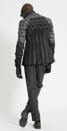 Chameo Design inspiration_ pattern geometric 3D fashion