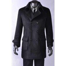 Mens Deliberate Overcoat - Jeanz T