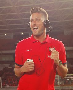 Olivier Giroud is the happiest Frenchman alive