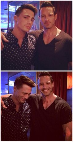 Ian Bohen and Colton Haynes.