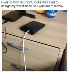 Wallet charging: