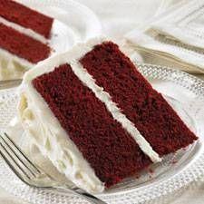 How to make red velvet wedding cakes
