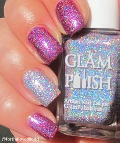 Glam Polish Anniversary Duo We Came To Party with accent of All Night Long