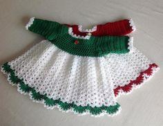 Crochet Baby Dress ... by Jeans Needles