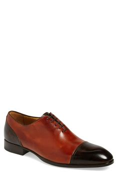 Carlos Santos 'Verestegui' Cap Toe Oxford (Men) available at #Nordstrom