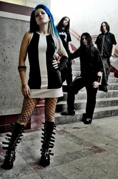 Find images and videos about death metal, alissa white gluz and the agonist on We Heart It - the app to get lost in what you love. The Agonist, Heavy Metal Girl, Alissa White, Goth Music, Punk Women, Women Of Rock, Arch Enemy, Women In Music, Metal Fashion