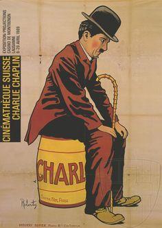 Charlie Chaplin film exposition in Switzerland