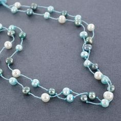 Sadie Green's Double Strand Freshwater Pearl Necklace