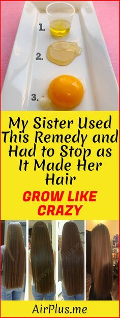 My Sister Used This Remedy And Had To Stop as it Made Her Hair Grow Like Crazy! – Airpl