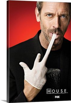 Gregory House is all about fun and games and now you get your House Md Magnet where House gives you the finger (with his glove) Gregory House, House Md, Hd House, Robert Sean Leonard, Movies And Series, Movies And Tv Shows, Chicago Fire, Best Tv Shows, Favorite Tv Shows