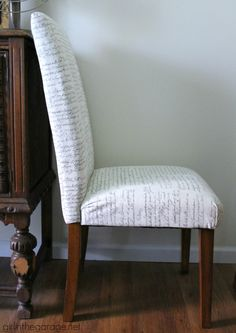 How To Upholster A Dining Room Chair Best Diy Reupholster Your Parsons Dining Chairs Tips From A Pro Inspiration