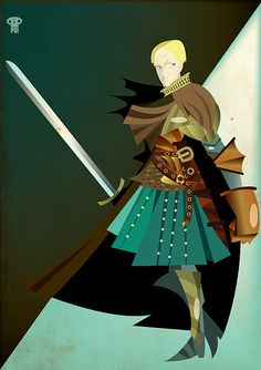 Brienne of Tarth Game Of Thrones Cosplay, Game Of Thrones Art, Brienne Of Tarth, 2d Game Art, Character Design Inspiration, Character Ideas, Fun Comics, Winter Is Coming, American Horror Story