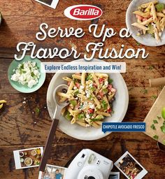 Play the Barilla® Latin Fusion Instant Win Game now for a chance to win one of thousands of prizes including Visa and iTunes gift cards, Free Barilla® pasta or sauce, FujiFilm Instax® Cameras or coupon savings! Check it out now! Instant Win Game ends 12/23/2017.