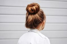 ∘∙≋❃☆❃≋∙∘ cute bun!! I've wanted to learn to do this for a while!!! AND I STILL DO! :)