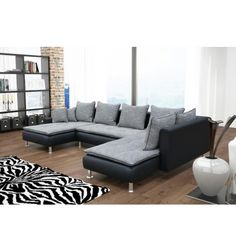 Vazola Corner Sofa With Chaiselongue Lounge Sofa ID Design - Formation decorateur interieur avec canape u design