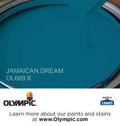This color will look great in my newly remodeled bathroom. JAMAICAN DREAM OL669.6 is a part of the aquas collection by Olympic® Paint.
