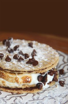 """cannoli s'more // We """"Cannoli"""" Eat S'mores!"""