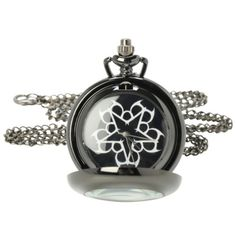 Black Veil Brides Logo Pocket Watch Necklace | Hot Topic ($13) ❤ liked on Polyvore featuring jewelry, necklaces, logo jewelry, black jet necklace, black jet jewelry, black pocket watch and bridal jewellery
