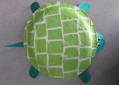 Tutorial : Yertle the Turtle Craft