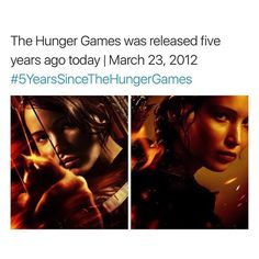 "162 Likes, 2 Comments - T⃟H⃟G⃟ X⃟ T⃟W⃟ (@void_everlark_) on Instagram: ""I know I'm a day late but wow time flys I can't believe it's been 5 years! Half a decade! I'm…"""