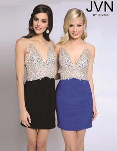 JVN by Jovani Short Homecoming Dress jvn99395