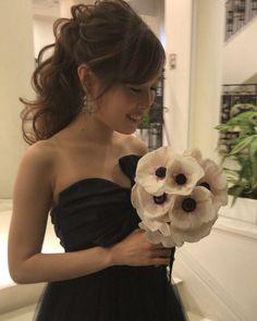 YUKINOさんはInstagramを利用しています:「お色直しは高めポニー💐✨#hair #hairset #hairmake #hairarrange #ヘアアレンジ#kawaii #japan#ウェディング#wedding…」 Strapless Dress, Yukino, Wedding, Dresses, Instagram, Women, Fashion, Strapless Gown, Valentines Day Weddings