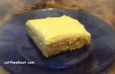 Cut the Wheat, Ditch the Sugar: Lovely Lemon Cake: Grain Free, Gluten Free, Sugar ...