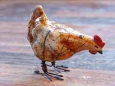 ginger hen by Joe lawrence art work, via Flickr