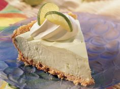 Cool off with a lighter key lime pie.  Don't worry, it's just as flavorful as the original.
