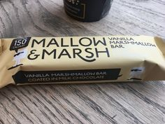 Mallow and Marsh Vanilla Marshmallow Bar Made in England for Mallow and Marsh Ltd