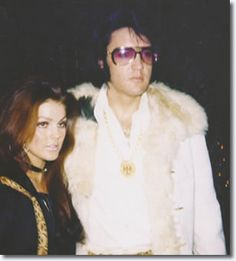 1970 12 31 Priscilla et Elvis Presley  New Years Eve Party à TJ