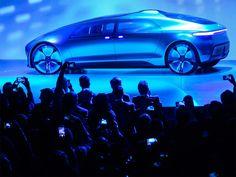 Mercedes Benz F 015 Luxury Motion en el salón de Las Vegas. Nuevo coche autónomo