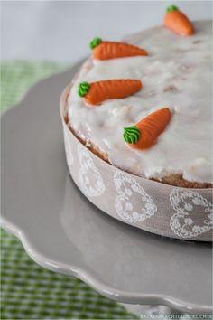 Karottenkuchen Rueblitorte Moehrenkuchen